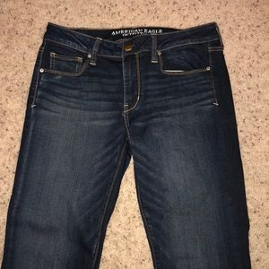 American Eagle women's skinny jeans size 10 long